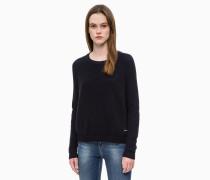 Sweater aus Baumwoll-Woll-Mix