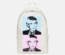 Campus-Rucksack mit Warhol-Portrait