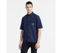 Utility-Hemd aus Baumwoll-Twill