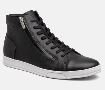 High Top Sneakers aus Leder