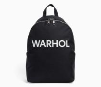 Rucksack mit Andy-Warhol-Logo