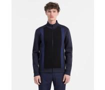 Jacke aus gebondetem Jersey mit Reißverschluss