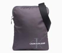 Crossover-Bag aus Nylon-Twill