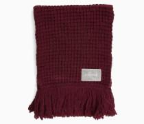Grob gestrickter Schal aus Wollgemisch