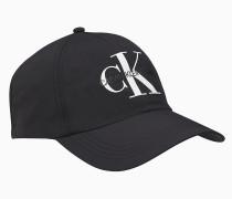 Logo-Kappe aus Nylon-Twill