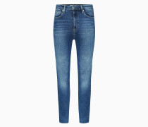 CKJ 010 High Rise Skinny Ankle Jeans