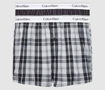 2er-Pack Slim Fit Boxershorts - Modern Cotton