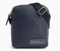 Mini-Crossover-Bag mit durchgehendem Logo