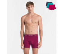 3er-Pack Shorts - Cotton Stretch