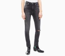 CKJ 010 High Rise Skinny Ankle Jeans