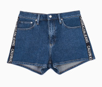 High Rise Denim-Shorts