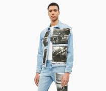 Andy-Warhol-Truckerjacke aus Denim