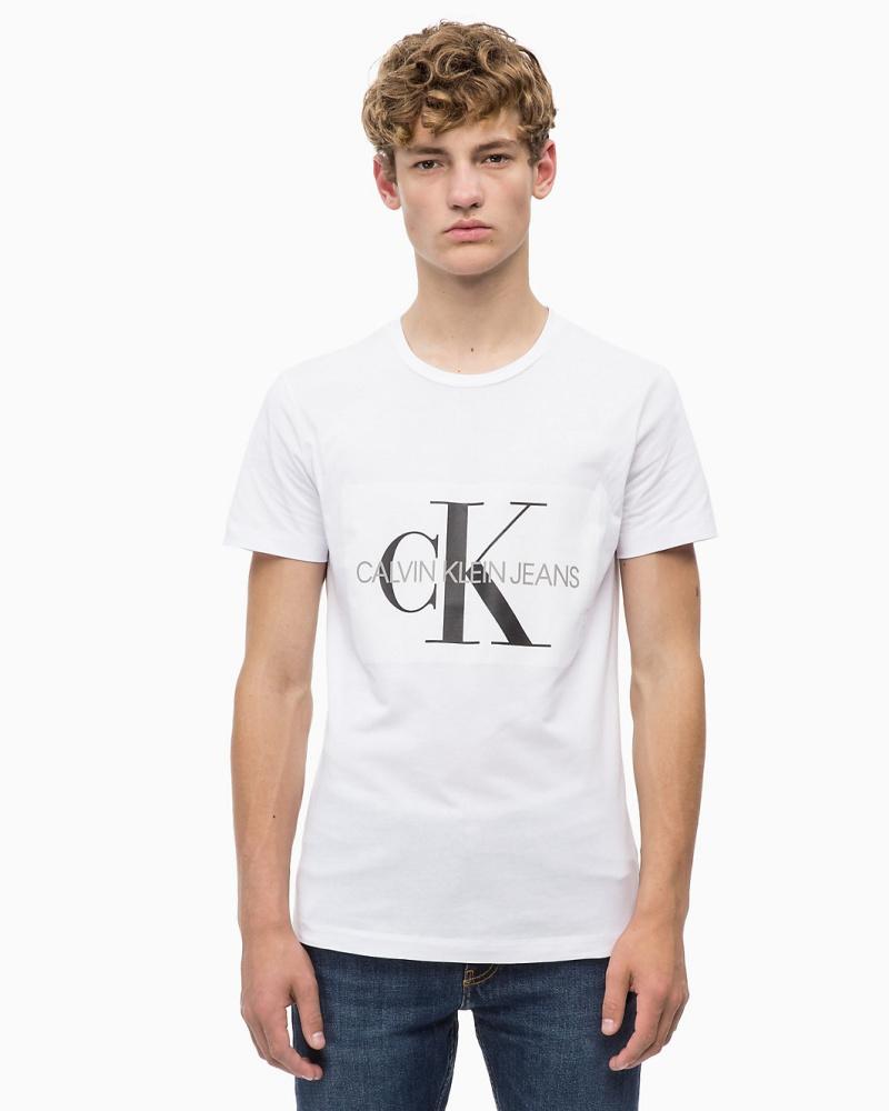 CALVIN KLEIN - Schmales Logo-T-Shirt