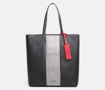 Große Tote-Bag aus Leder