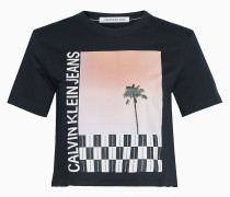 T-Shirt mit Foto-Print aus Bio-Baumwolle