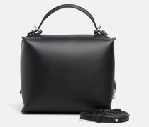 Kleine Box Satchel-Bag aus Leder