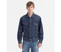 Trucker-Jacke aus Denim