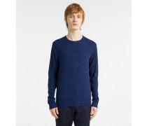 Sweater aus Baumwoll-Seiden-Mix