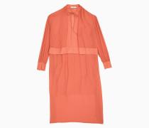 Kleid im Lagenlook aus Georgette