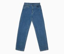 Tough Blue Baggy Jeans