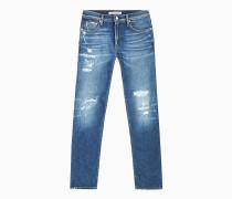 CKJ 026 Slim Distressed Jeans