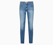 CKJ 026 Slim Jeans aus Bio-Baumwolle