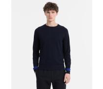 Sweater aus Woll-Baumwoll-Mix