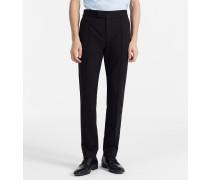 Taillierte Jersey-Hose