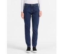 High-Rise Slim-Jeans