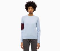 Wollpullover im Blockfarben-Design