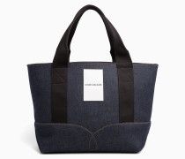 Medium Denim-Tote-Bag