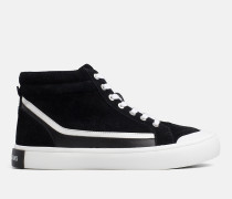High Top Sneakers aus Wildleder