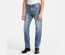 CKJ 035 Straight Taped Jeans