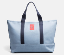 Extra große Tote-Bag aus Canvas