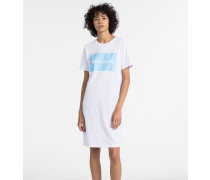 Logo-T-Shirt-Kleid