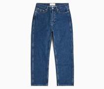 Leather-Free CKJ 030 High Rise Straight Jeans