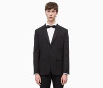 Tuxedo-Blazer aus Schurwolle