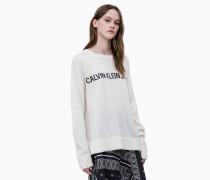 Oversized Sweater aus Alpaka-Wollgemisch