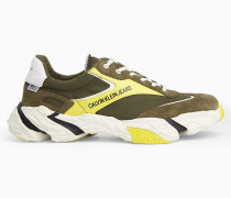 Chunky Sneakers aus Leder