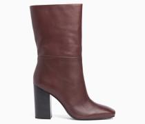 Stiefel aus Leder mit Absatz