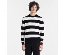 Blockstreifen-Sweater