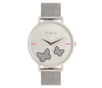 Giada Butterfly Uhr Color Silver