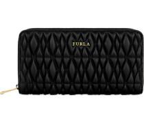 COMETA zip-around-portemonnaie onyx