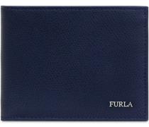 MAN MARTE bi-fold-portemonnaie blu d