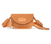 Tasche aus Nappa- und Veloursleder