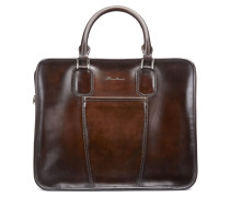24-Stunden-Reisetasche aus Leder