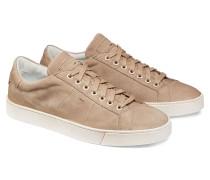 Niedriger Sneaker aus Veloursleder