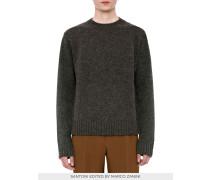 Herren-Pullover aus Shetland-Wolle