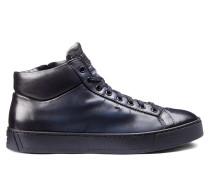 Hoher Sneaker aus Leder