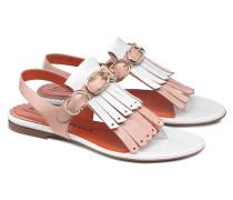 Sandale aus Leder